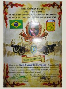 Titulos e Homenagens Ricardo Barradas 30