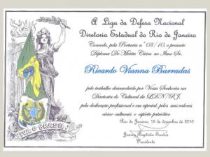 Títulos e Homenagens Ricardo Barradas 15c